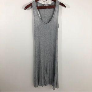 Vince Gray Racerback Drop Waist Dress Swing S